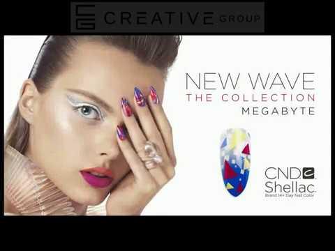 """CND Shellac """"Megabyte"""" Nail Style"""