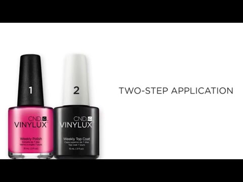 Vinylux 2 Steps Application
