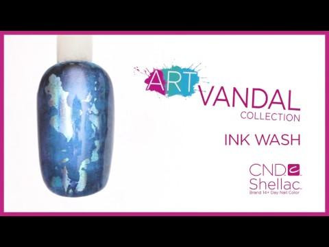 Ink wash Art Vandal design