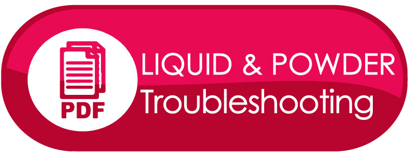 CND Liquid & Powder Troubleshooting